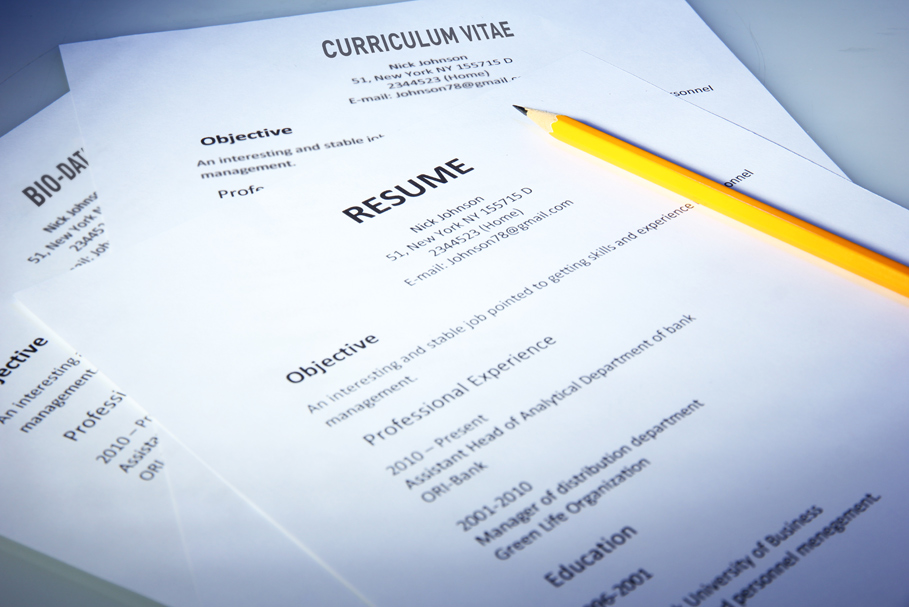 cv vs resume vs bio data